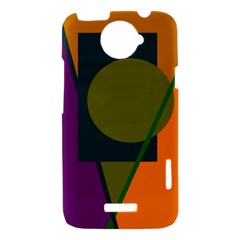 Geometric abstraction HTC One X Hardshell Case