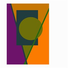 Geometric abstraction Small Garden Flag (Two Sides)