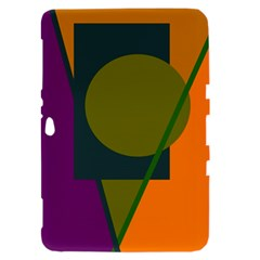 Geometric abstraction Samsung Galaxy Tab 8.9  P7300 Hardshell Case
