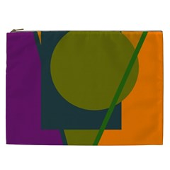 Geometric abstraction Cosmetic Bag (XXL)