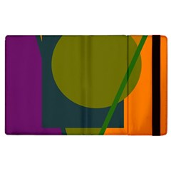 Geometric abstraction Apple iPad 2 Flip Case