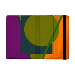 Geometric abstraction Apple iPad Mini Flip Case