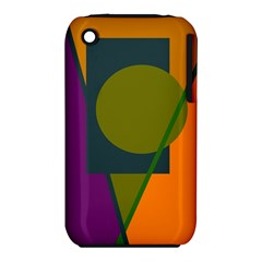 Geometric abstraction Apple iPhone 3G/3GS Hardshell Case (PC+Silicone)