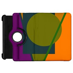 Geometric abstraction Kindle Fire HD Flip 360 Case