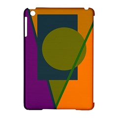 Geometric abstraction Apple iPad Mini Hardshell Case (Compatible with Smart Cover)