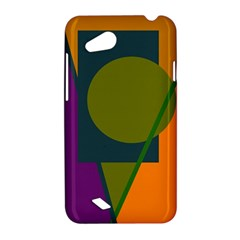 Geometric abstraction HTC Desire VC (T328D) Hardshell Case
