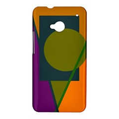 Geometric abstraction HTC One M7 Hardshell Case