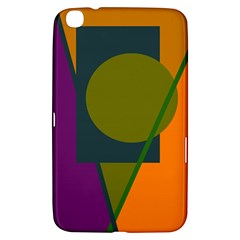 Geometric abstraction Samsung Galaxy Tab 3 (8 ) T3100 Hardshell Case