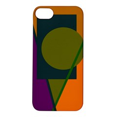 Geometric abstraction Apple iPhone 5S/ SE Hardshell Case