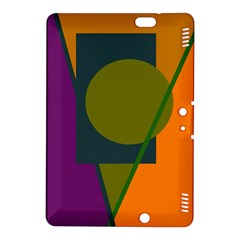 Geometric abstraction Kindle Fire HDX 8.9  Hardshell Case