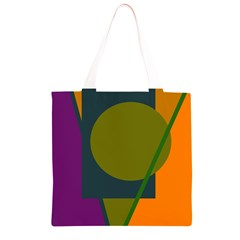 Geometric abstraction Grocery Light Tote Bag