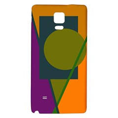 Geometric abstraction Galaxy Note 4 Back Case