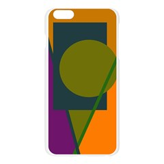 Geometric abstraction Apple Seamless iPhone 6 Plus/6S Plus Case (Transparent)