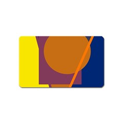 Geometric abstract desing Magnet (Name Card)