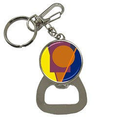 Geometric abstract desing Bottle Opener Key Chains