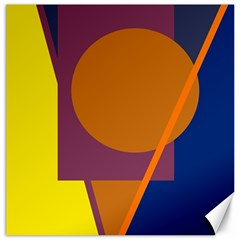 Geometric abstract desing Canvas 20  x 20
