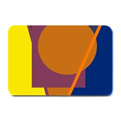 Geometric abstract desing Plate Mats