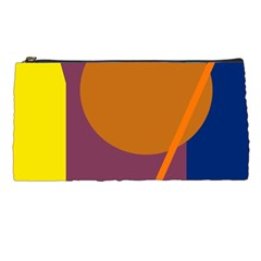 Geometric abstract desing Pencil Cases