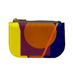 Geometric abstract desing Mini Coin Purses
