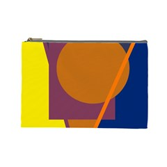Geometric abstract desing Cosmetic Bag (Large)