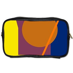 Geometric abstract desing Toiletries Bags 2-Side
