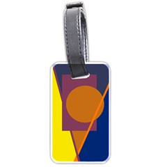 Geometric abstract desing Luggage Tags (One Side)