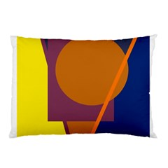 Geometric abstract desing Pillow Case (Two Sides)
