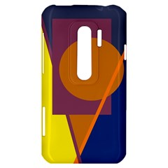 Geometric abstract desing HTC Evo 3D Hardshell Case
