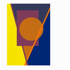 Geometric abstract desing Large Garden Flag (Two Sides)
