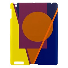 Geometric abstract desing Apple iPad 3/4 Hardshell Case