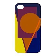 Geometric abstract desing Apple iPhone 4/4S Premium Hardshell Case