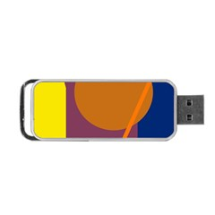 Geometric abstract desing Portable USB Flash (Two Sides)