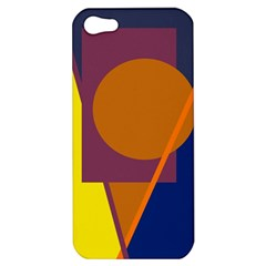 Geometric abstract desing Apple iPhone 5 Hardshell Case