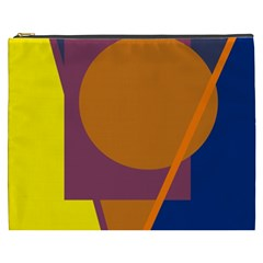 Geometric abstract desing Cosmetic Bag (XXXL)
