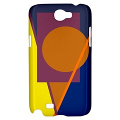 Geometric abstract desing Samsung Galaxy Note 2 Hardshell Case
