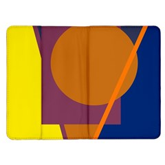 Geometric abstract desing Kindle Fire (1st Gen) Flip Case