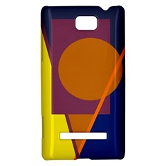 Geometric abstract desing HTC 8S Hardshell Case