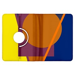 Geometric abstract desing Kindle Fire HDX Flip 360 Case