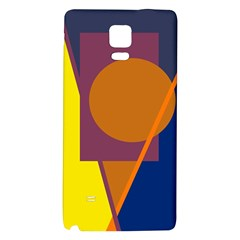 Geometric abstract desing Galaxy Note 4 Back Case
