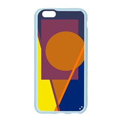 Geometric abstract desing Apple Seamless iPhone 6/6S Case (Color)
