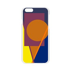 Geometric abstract desing Apple Seamless iPhone 6/6S Case (Transparent)