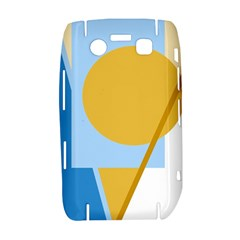 Blue and yellow abstract design Bold 9700