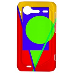 Colorful geometric design HTC Incredible S Hardshell Case