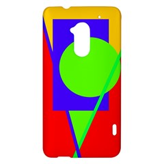 Colorful geometric design HTC One Max (T6) Hardshell Case