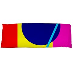 Colorful geometric design Body Pillow Case (Dakimakura)