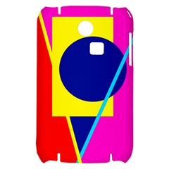 Colorful geometric design Samsung S3350 Hardshell Case