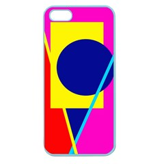 Colorful geometric design Apple Seamless iPhone 5 Case (Color)