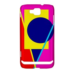 Colorful geometric design Samsung Ativ S i8750 Hardshell Case