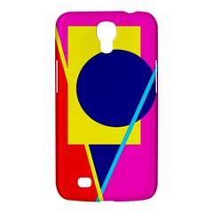 Colorful geometric design Samsung Galaxy Mega 6.3  I9200 Hardshell Case