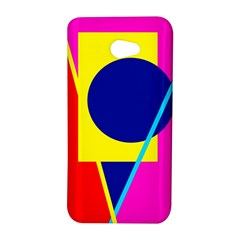 Colorful geometric design HTC Butterfly S/HTC 9060 Hardshell Case